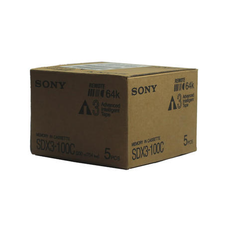 New Sony SDX3-100C AIT3 100/260GB Tape Cartridge